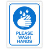DURUS HEALTH AND SAFETY SIGN Wash Hands 225x300mm