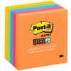 POST-IT 654-5SSUC SUPER STICKY Ultra Colours 76x76mm Asstd Pack of 5