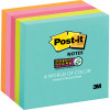 POST-IT MIAMI 654-5SSMIA Super Sticky Notes-75mmx75mm Pack of 5, 90 Sheets/Pack