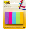POST-IT 670-5AU PAGE MARKERS Ultra 500 Asstd 13x44mm Pack of 5