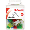ESSELTE PINS FLAG 10x18x33mm Assorted Pack of 50