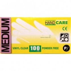 Gloves Handcare Vinyl Medium Lalan 240mm - Powder Free
