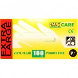 Gloves Handcare Vinyl X-Large Lalan 240mm - Powder Free