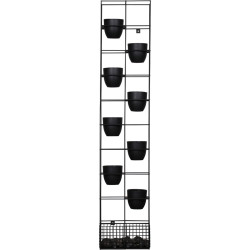 RAPIDLINE BLOOM VERTICAL GARDEN 1935H x 390W x 210mmD Black