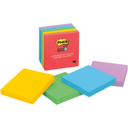 POST-IT SUPER STICKY NOTES 654-5SSAN 76mm x 76mm Marrakesh