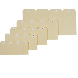 ESSELTE SHIPPING TAGS No 1 35x70mm Box of 1000