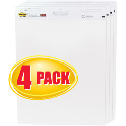 POST-IT 559-VAD EASEL PADS Super Sticky 635x775mm White Pack of 4