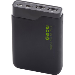 Moki PowerBank 10000mAh Black