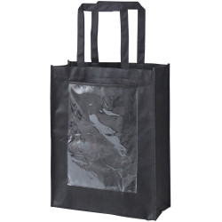 Zart Eco Bag With Display Pocket Black Pack of 10