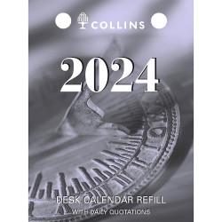 Collins Desk Calendar Refills Top Opening 100x75mm