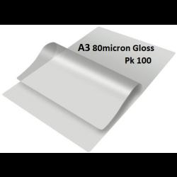 Laminating Pouches A3 80 micron