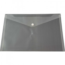 A4 PP Document Wallet ( Doculope ) Clear with Button