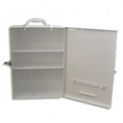 Trafalgar National First Aid Kit Wall Mount - Metal (No contents)