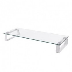 """Universal Tabletop Glass Monitor Riser - 20KG max load - Screen size 13-32"""""""
