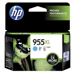 HP No 955XL High Yield INKJET CARTRIDGE Cyan - 600 pages