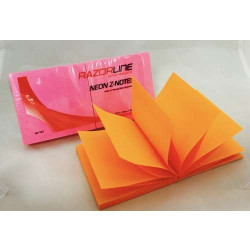 Pop Up Z-Notes R330 Sub 76x76 NEON Pack of 6