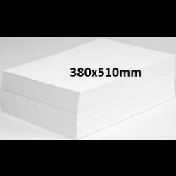 Newsprint Butcher Paper 380x510mm 49gsm-White