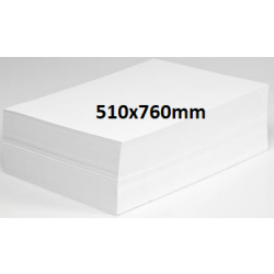 Newsprint Butcher Paper 510x760mm 49gsm-White