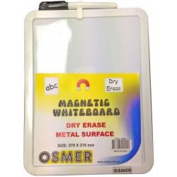 Osmer A4 Whiteboard INCL Black Marker