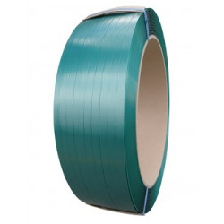 PET Strapping Green Embossed 15.5 mm x .90 x 1200mb