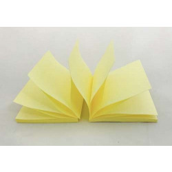 Pop Up Z-Notes R330 Sub 76x76 Yellow Pack of 6