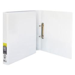Premium Insert Binder A4 2D 25mm White