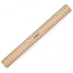 Wooden Ruler - Unpolished 30cm