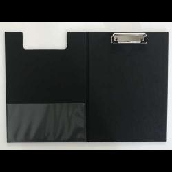 Clipfolder A4 PP with Inside Pocket - Black
