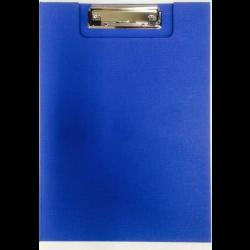 Clipfolder A4 PP with Inside Pocket - Blue
