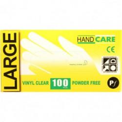 Gloves Handcare Vinyl Large Lalan 240mm - Powder Free