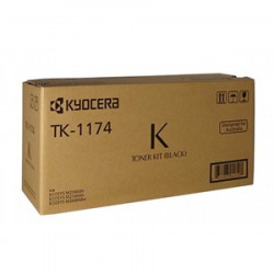 Kyocera Genuine TK1174  Toner Cartridge  Black 7,200 Page