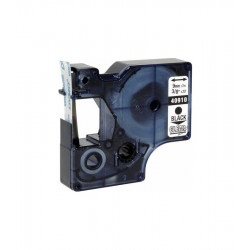 Compatible D1 LABEL CASSETTE 9mmx7m - Black on Clear