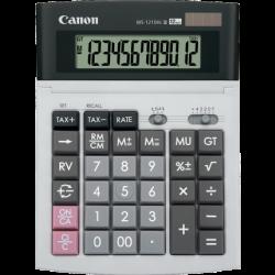 Canon WS1210HiIII 12 Digit Calculator;  F,0,2,3,4,+, Dual Power, Tax Function, markUp/GP Funct.