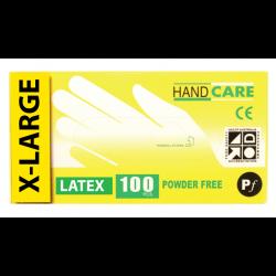 Gloves Handcare Latex X-Large Lalan 240mm - Powder Free